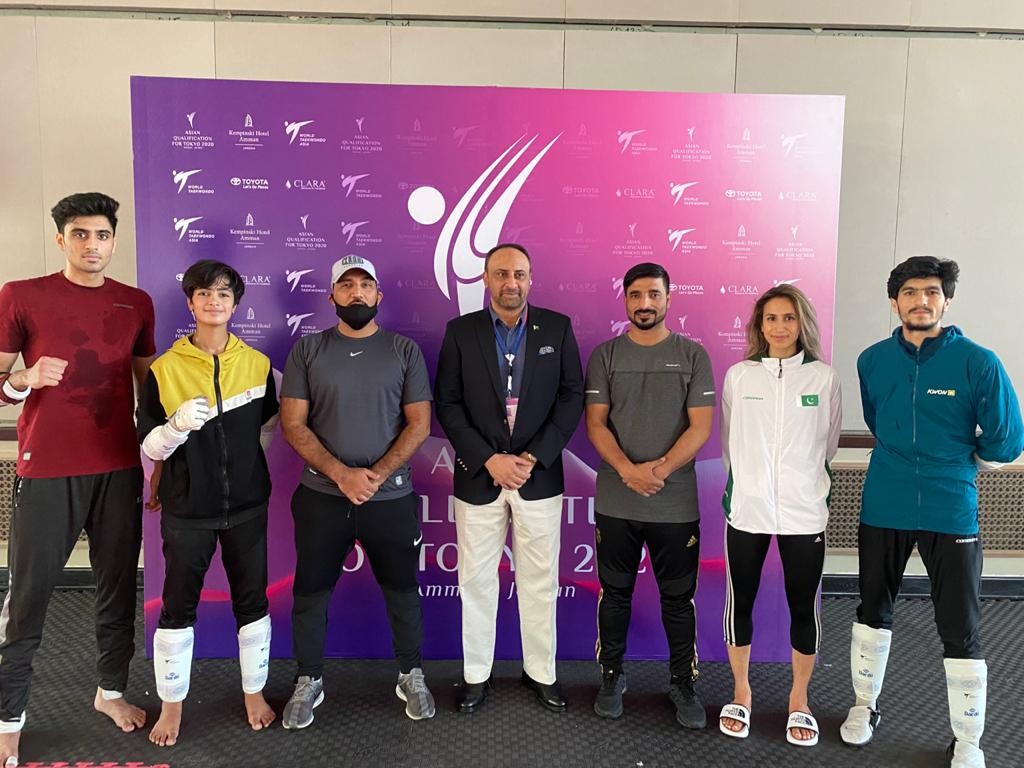 Olympics: Taekwondo Team in Olympics Qualifying Round