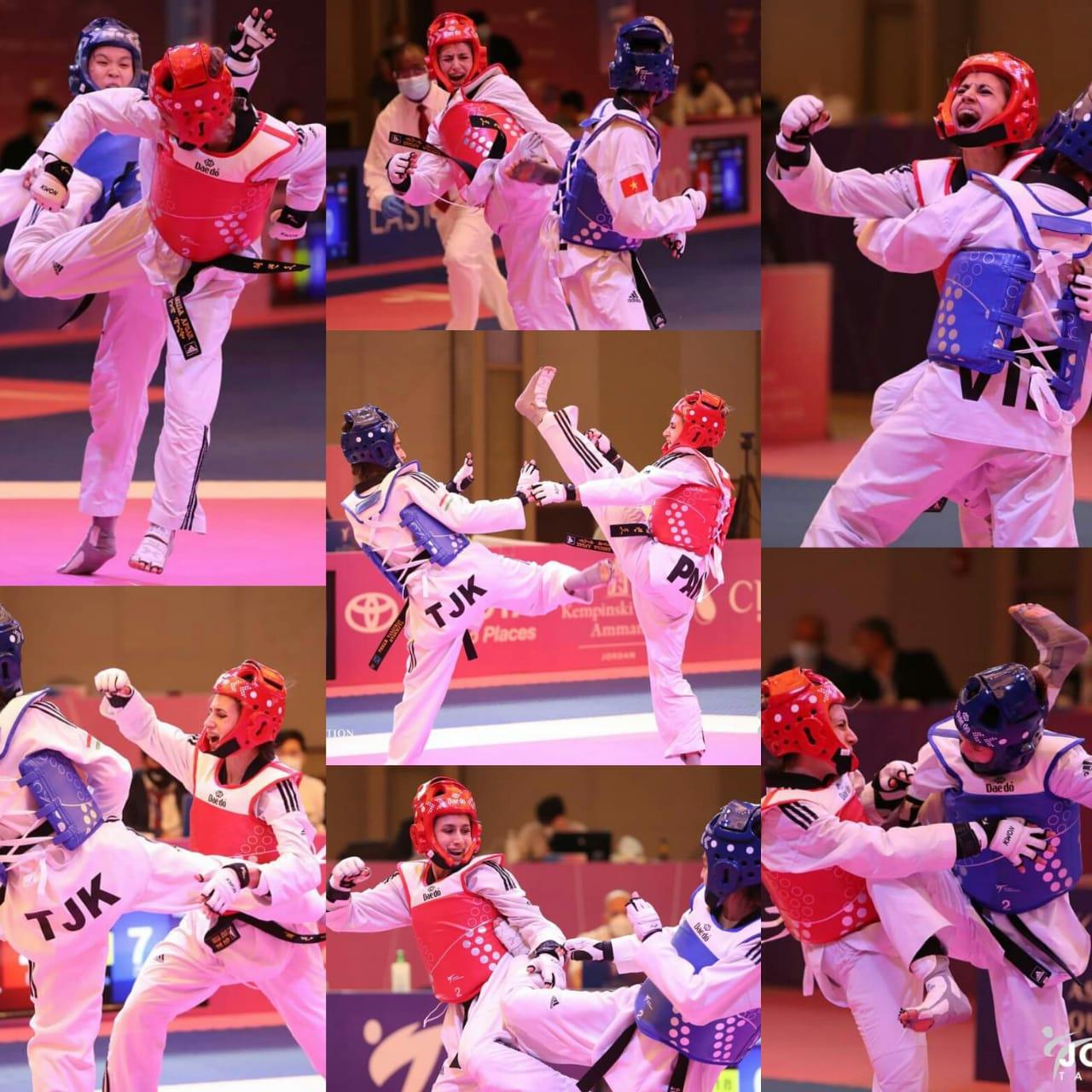 Anelia at Olympic Qualifying Round