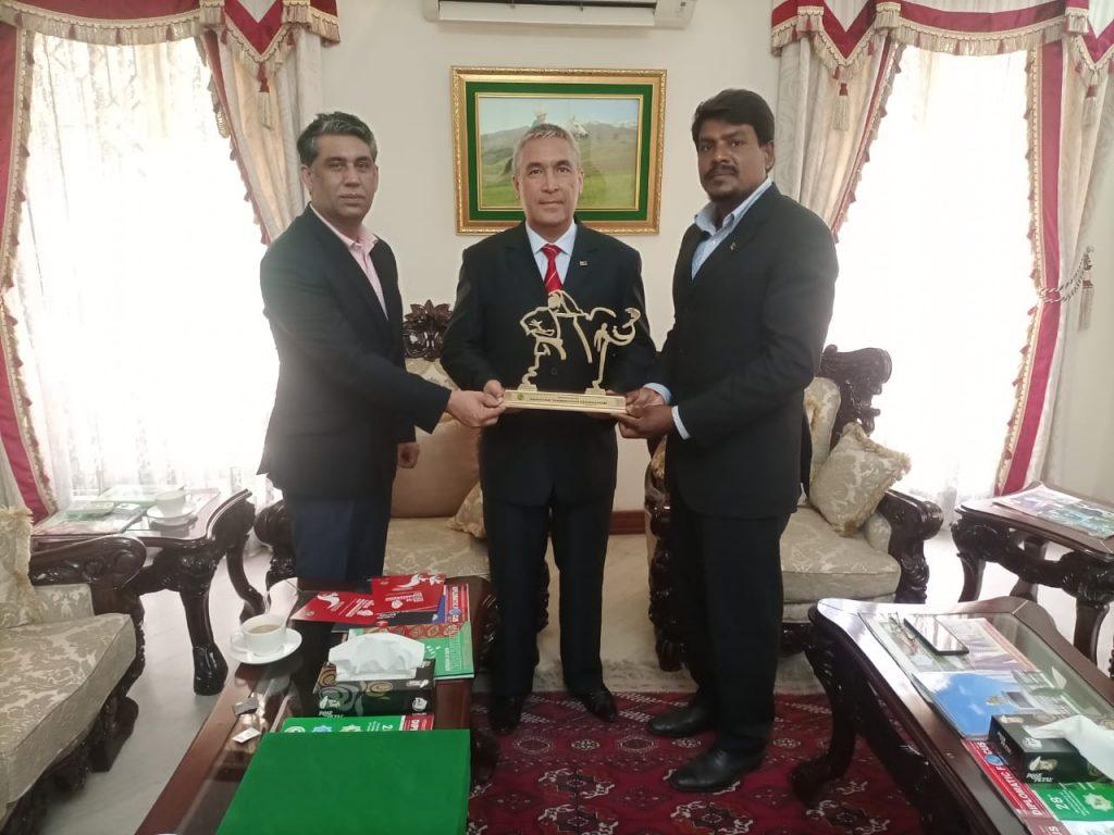 President PTF meeting with Ambassadors in Pakistan
